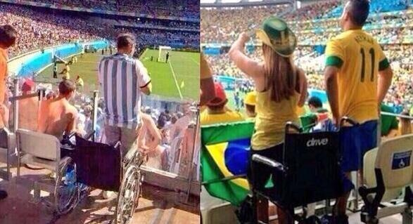 Miracles happen in the Soccer World Cup