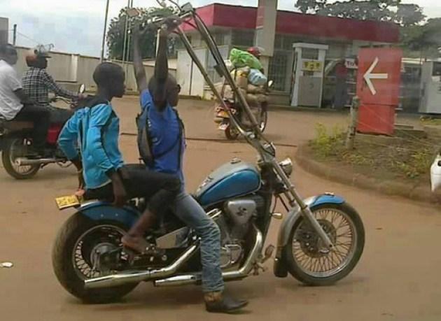 Long arms bike