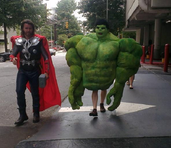 Hulk legs