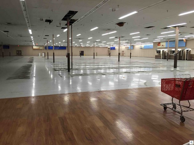 Walmart gutted