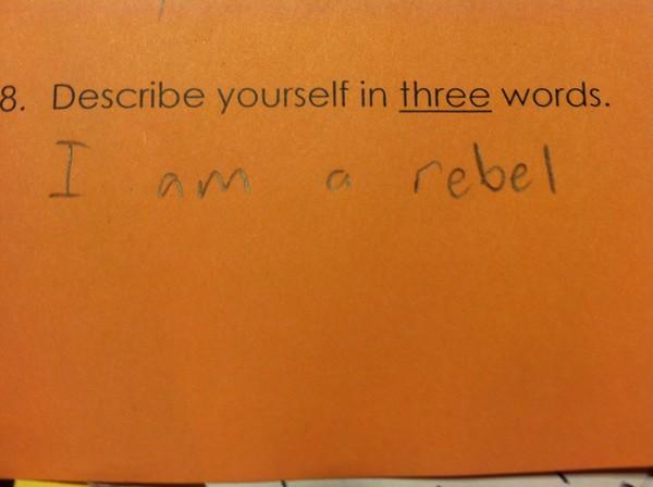 3 word rebel