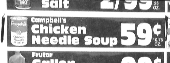 Chicken Needle Soup