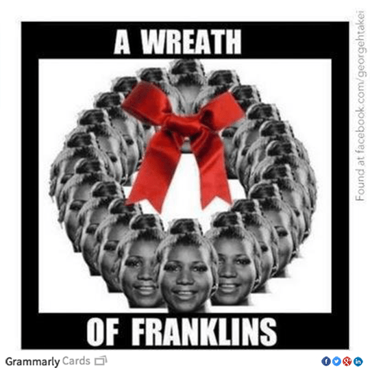 A Wreath of Franklins