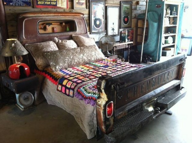 Bed in a bed
