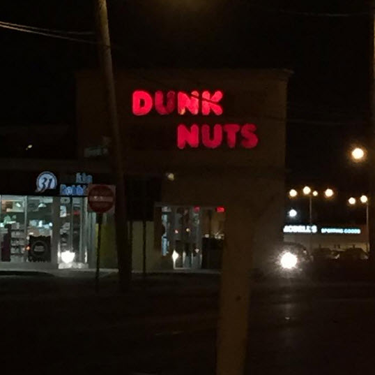 Dunk nuts
