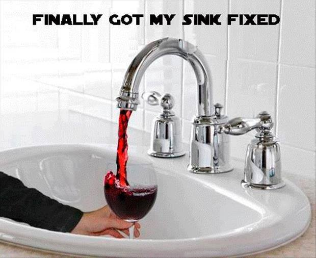 Sink fixed