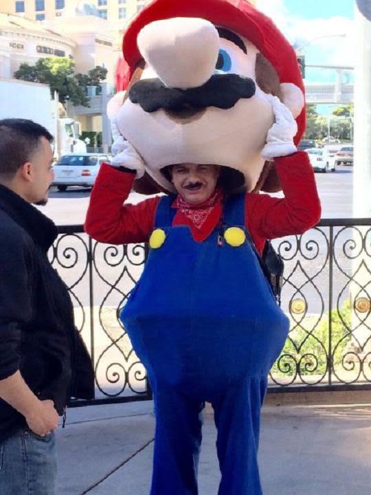 Super Mario inside Super Mario