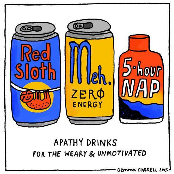 Apathy Drinks