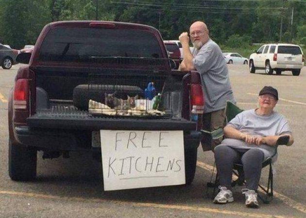 Free kitchens