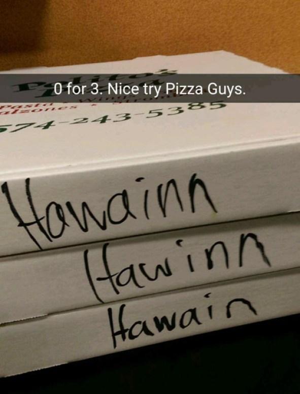 Hawinn pizza
