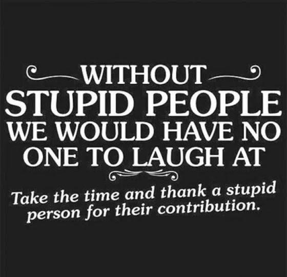 Thank stupid