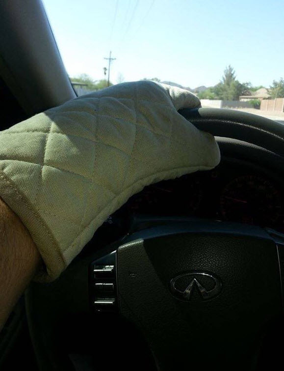 How to drive during the summer