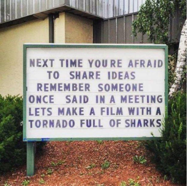 Afraid to share an idea