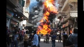 syria war image