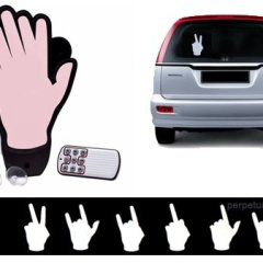 """Con """"The Hand"""" no tendrás que sacar el brazo por la ventanilla"""