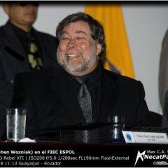 Stephen Wozniak (The Woz) en Ecuador [audio]