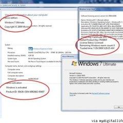 Windows 7 RTM , crackeado (Wow , que raro…)