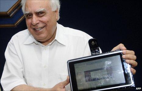 Prototip de iPad de India