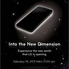 ¿LG Optimus con 3D?