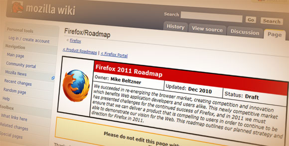 Firefox Roadmap
