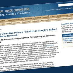 FTC sanciona a Google por deficiencias en la privacidad en el lanzamiento de Buzz
