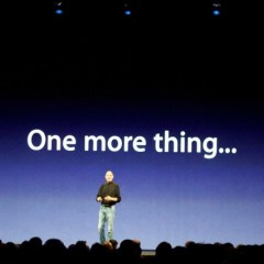 """¿""""One more thing… iPhone 4S""""?"""