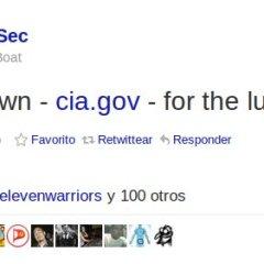 LulzSec dio de baja al sitio web de la CIA, LOL