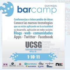 BarCamp Guayaquil este sábado 1 de octubre