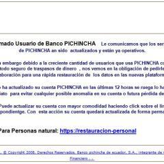 Estafas por internet y phishing en Ecuador