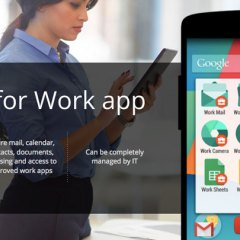 Google ofrece Android for Work para el sector empresarial