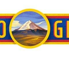 El saludo de Google por el día de la Independencia de Ecuador