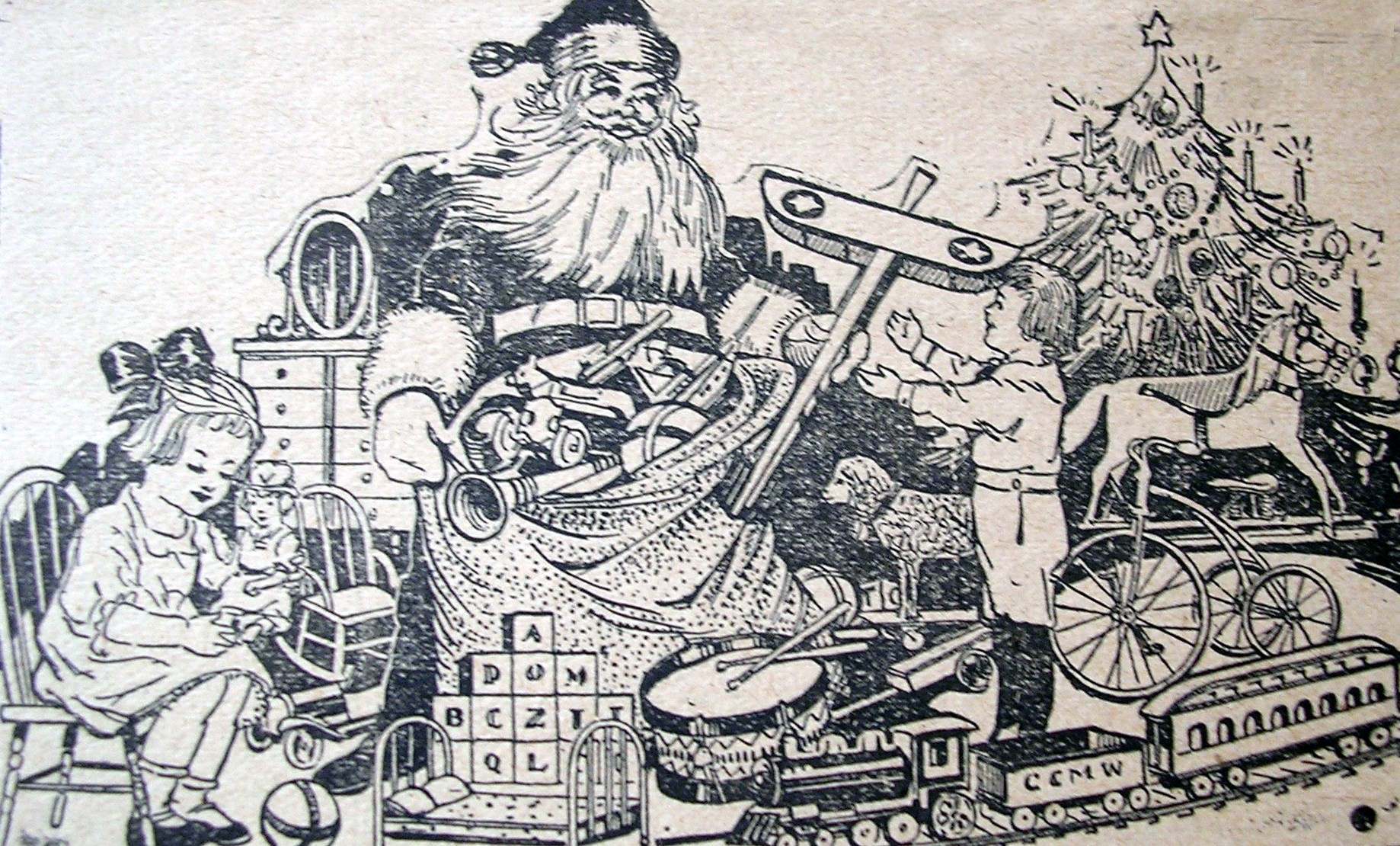 Santa Letterhead Word
