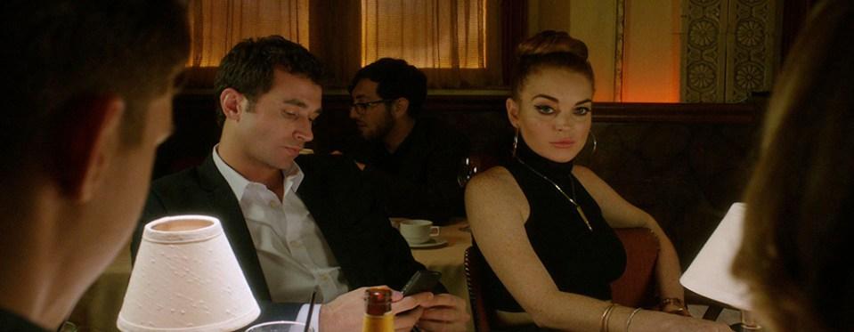 Lindsay Lohan e James Deen em The Canyons de Paul Schrader