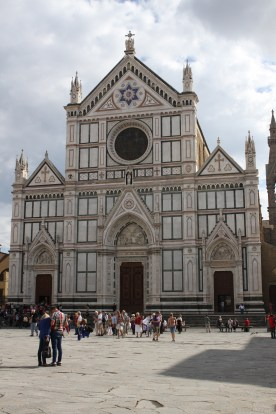 The Basilica of Santa Croce.