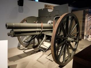 German 7.7cm M1896 field gun