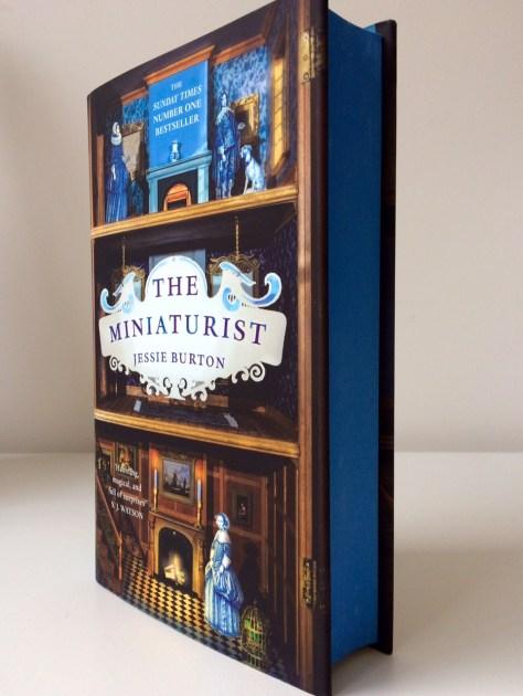 My copy of 'The Miniaturist'