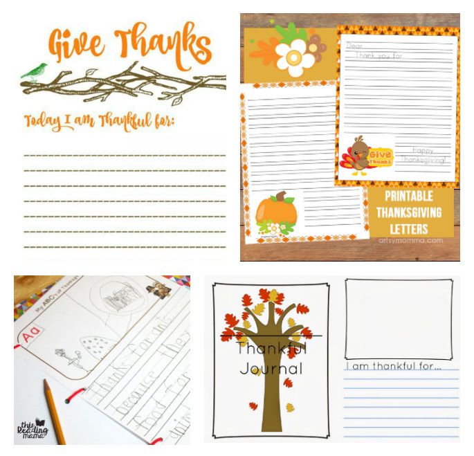 30 Free Thanksgiving Gratitude Printables For Kids Bits Of Positivity