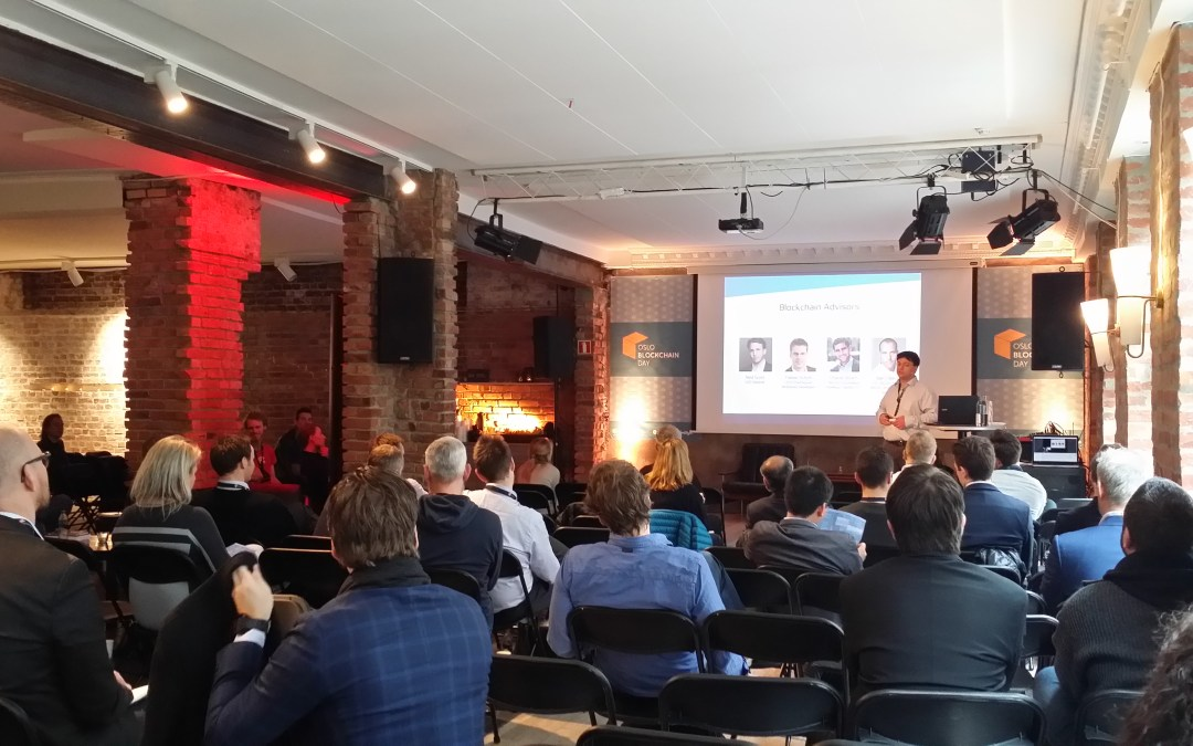BitGate Sponsors at Oslo Blockchain Day