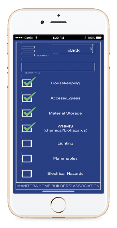 Fall Protection App