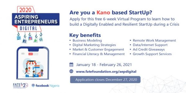 Fate Foundation/Facebook Aspiring Entrepreneurs Digital Programme