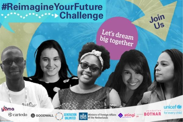 #ReimagineYourFuture Challenge 2020 for Youths