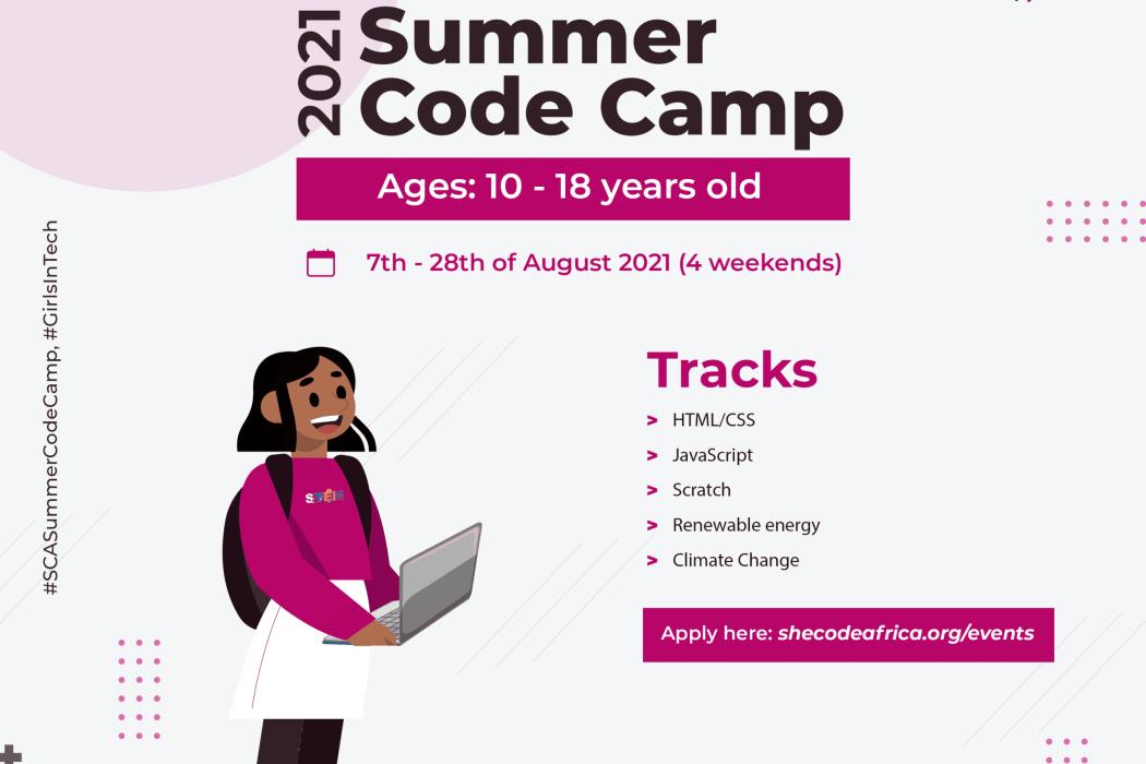 She Code Africa Summer Code Camp