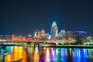 Cincinnati Skyline as captured by Dave Morgan