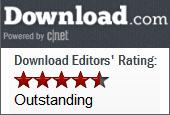 5/5 Editors Rating CNET Download.com