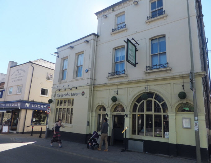 The Jericho Tavern in Oxford