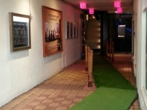 The Varsity Club - Entrance Carpet