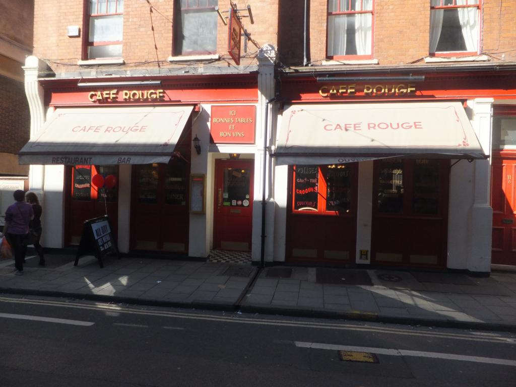 Cafe Rouge in Oxford