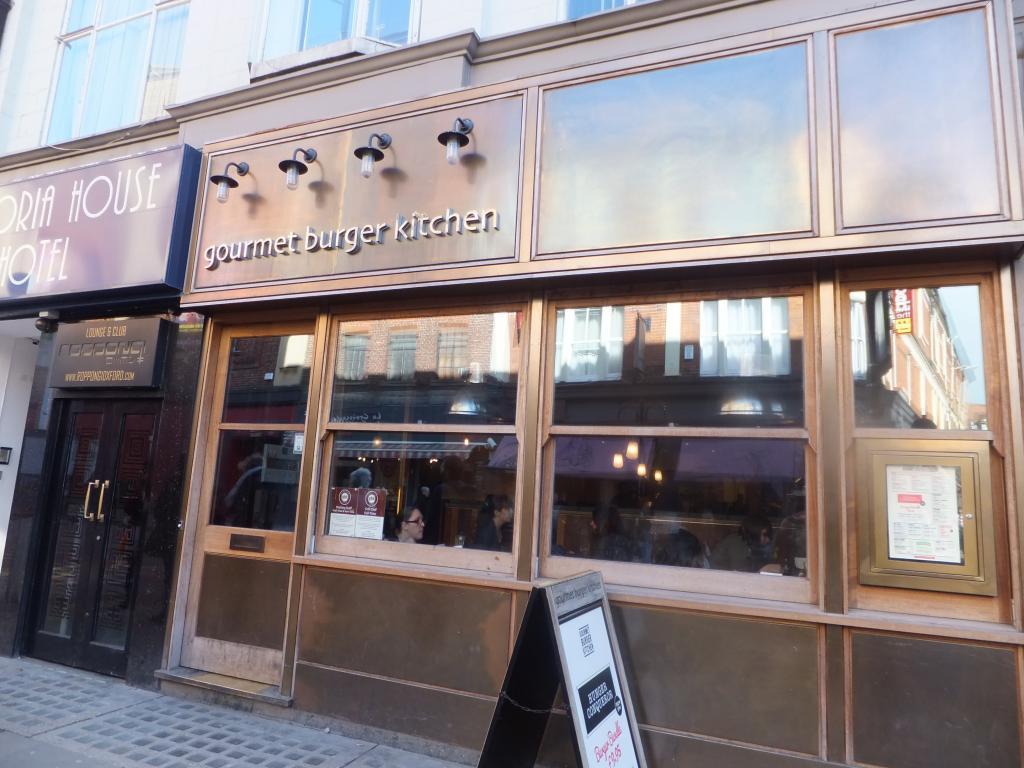 Gourmet Burger Kitchen Oxford