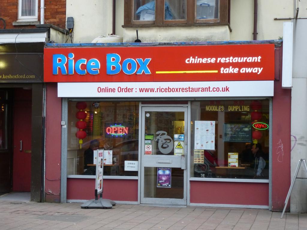 Rice Box in Oxford
