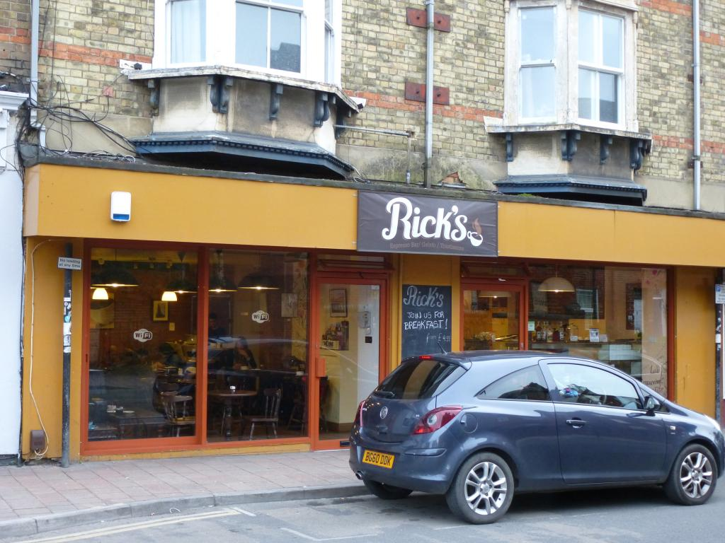 Ricks Cafe in Oxford